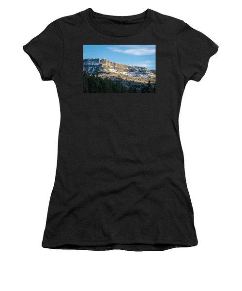 Volcanic Cliffs Of Wolf Creek Pass Women's T-Shirt