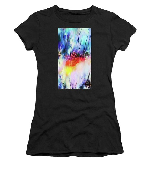 Volcanic Fissures Women's T-Shirt (Athletic Fit)
