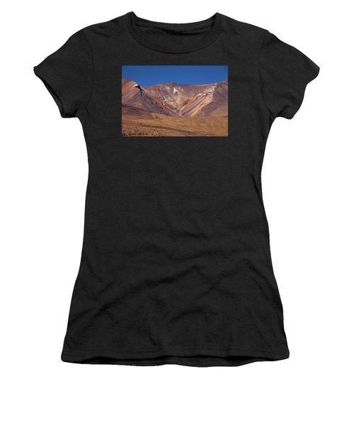 Volcano Crater In Siloli Desert Women's T-Shirt