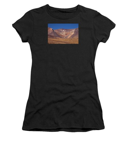 Volcano Crater In Siloli Desert Women's T-Shirt