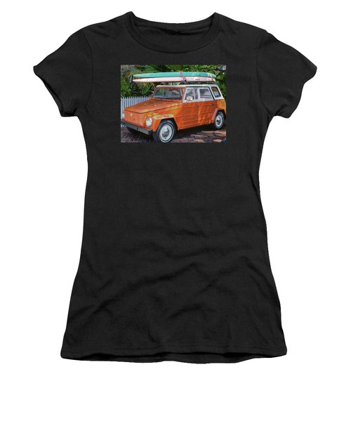 Volkswagen And Surfboards Women's T-Shirt