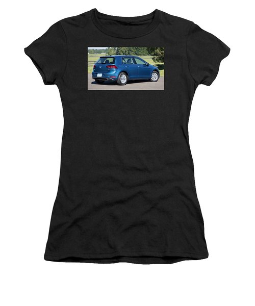 Volkswagen Golf Tsi Women's T-Shirt (Athletic Fit)