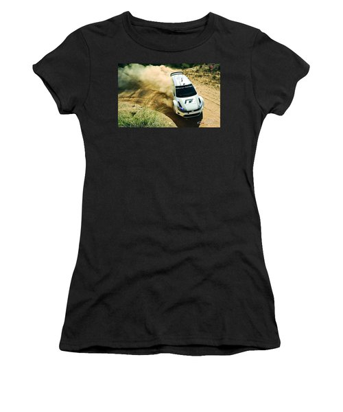 Volkswagen Polo Rally Women's T-Shirt (Athletic Fit)