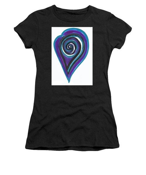 Vortex Wave Women's T-Shirt (Athletic Fit)