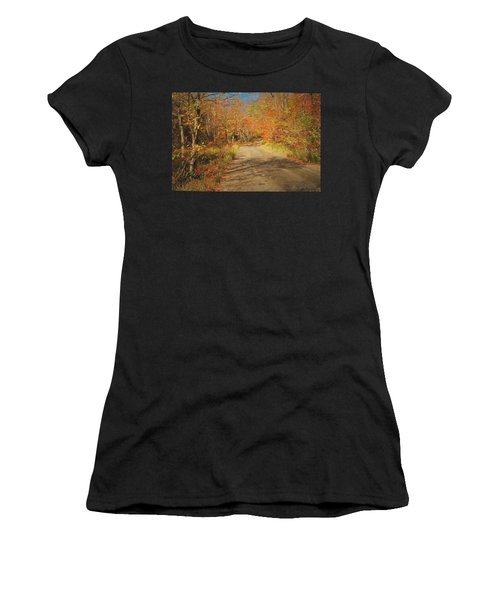 Vt.rte. Fifty Eight Hazen  Notch Women's T-Shirt (Athletic Fit)