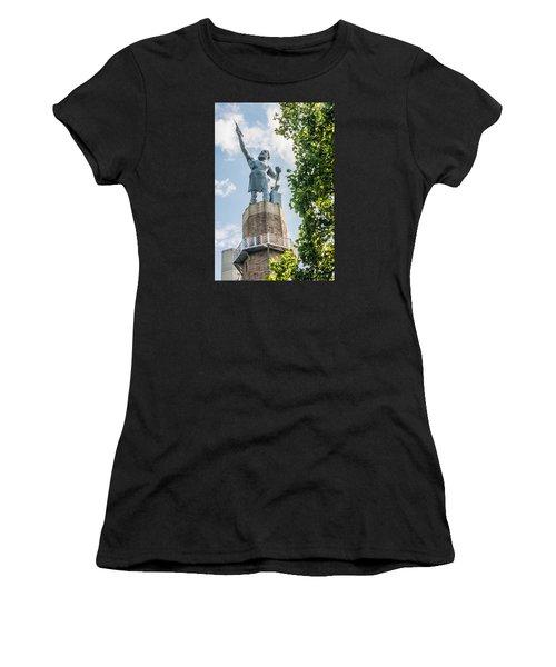 Vulcan On A Sunny Day Women's T-Shirt (Junior Cut) by Parker Cunningham