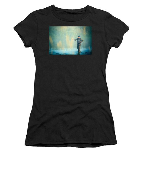 Wading For Trout Women's T-Shirt