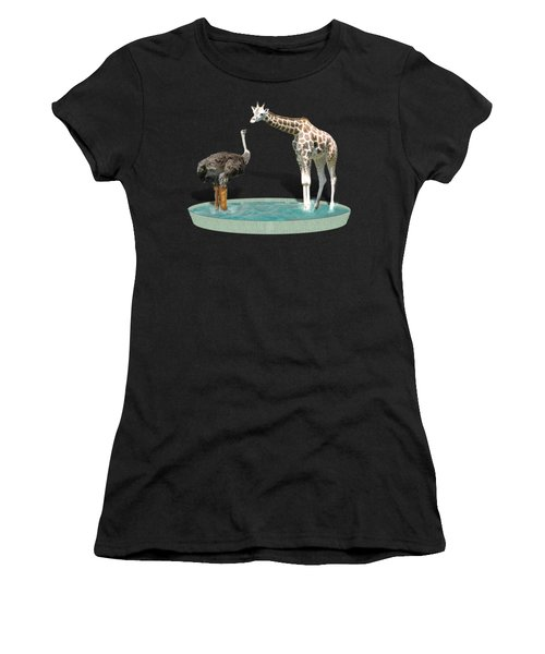 Wading Pool Women's T-Shirt