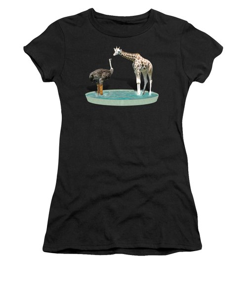 Wading Pool Women's T-Shirt (Athletic Fit)