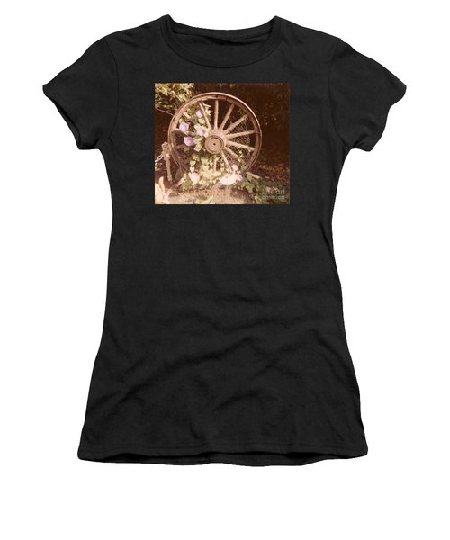 Wagon Wheel Memoir Women's T-Shirt