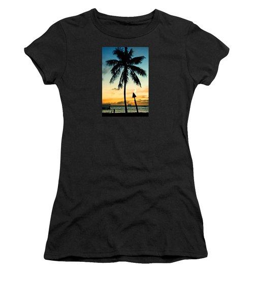 Waikiki Sunset Women's T-Shirt