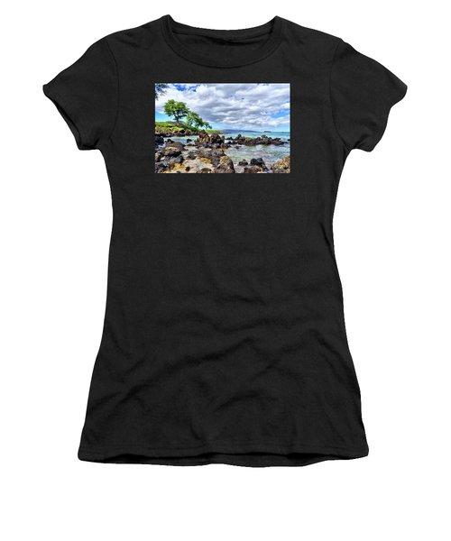 Wailea Beach #2 Women's T-Shirt (Athletic Fit)