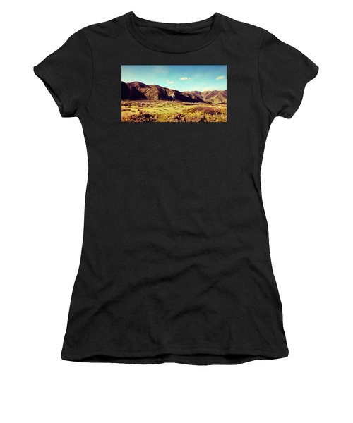 Wainui Hills Women's T-Shirt (Junior Cut) by Joseph Westrupp