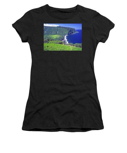 Waipio Valley, Big Island, Hawaii Women's T-Shirt