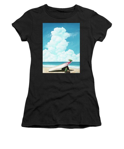 Waiting For Surf Women's T-Shirt