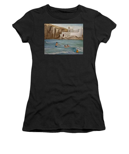 Waiting For The Waves Women's T-Shirt