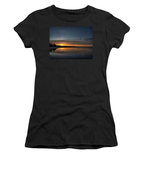Waking To A Cold Sunrise Women's T-Shirt (Athletic Fit)