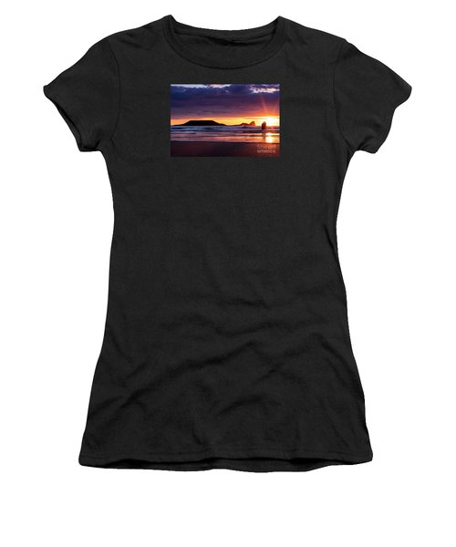Wales Gower Coast Helvetia Women's T-Shirt
