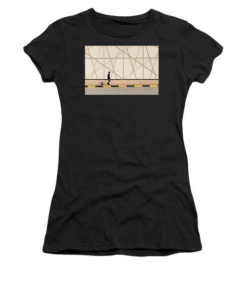 Walk The Line Women's T-Shirt