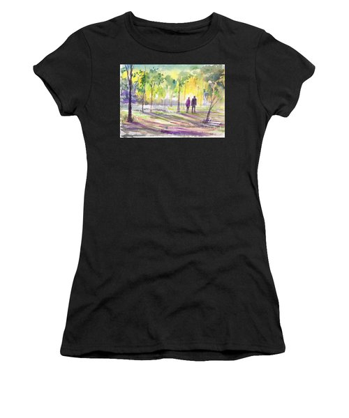 Walk Through The Woods Women's T-Shirt