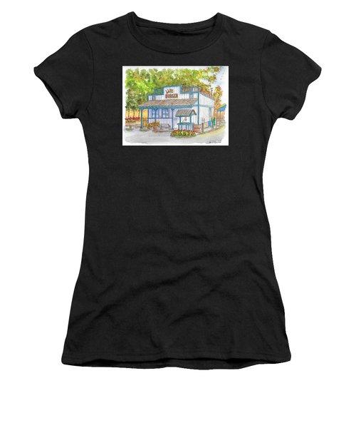 Walker Burger In Walker, California Women's T-Shirt (Athletic Fit)