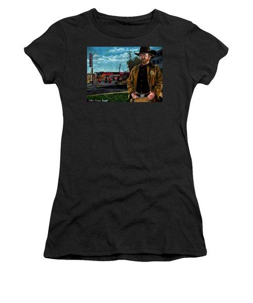 Walker Texaco Ranger Women's T-Shirt (Athletic Fit)