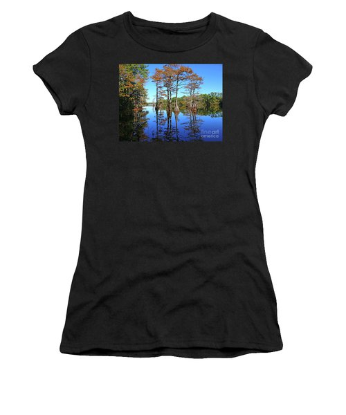Walkers Mill Pond Women's T-Shirt (Athletic Fit)