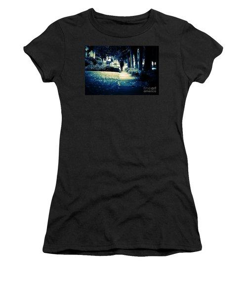 Walking A Lonely Path Women's T-Shirt