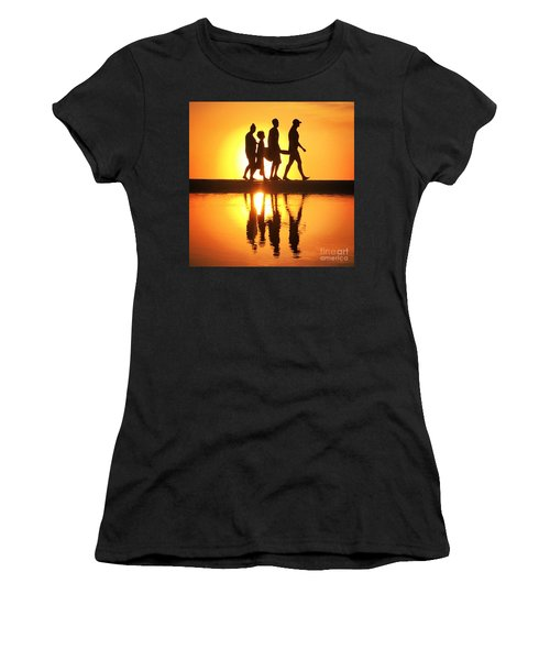 Walking On Sunshine Women's T-Shirt (Athletic Fit)
