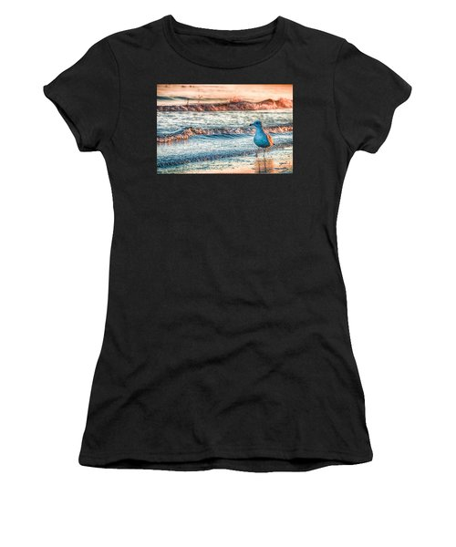 Walking On Sunshine Women's T-Shirt (Athletic Fit)
