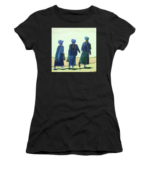 Walking The Walk Women's T-Shirt (Athletic Fit)