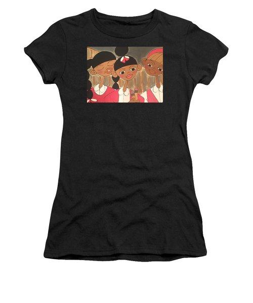 Walkin Home Women's T-Shirt (Athletic Fit)
