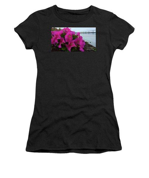 Walkway Petunias Women's T-Shirt