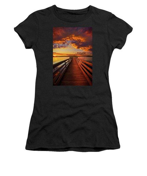 Walkyn Skywyrd Women's T-Shirt (Athletic Fit)