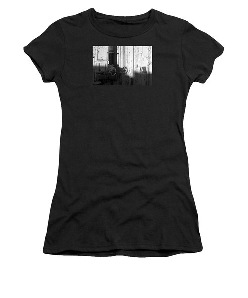 Wall Pipe Shadows Women's T-Shirt (Athletic Fit)