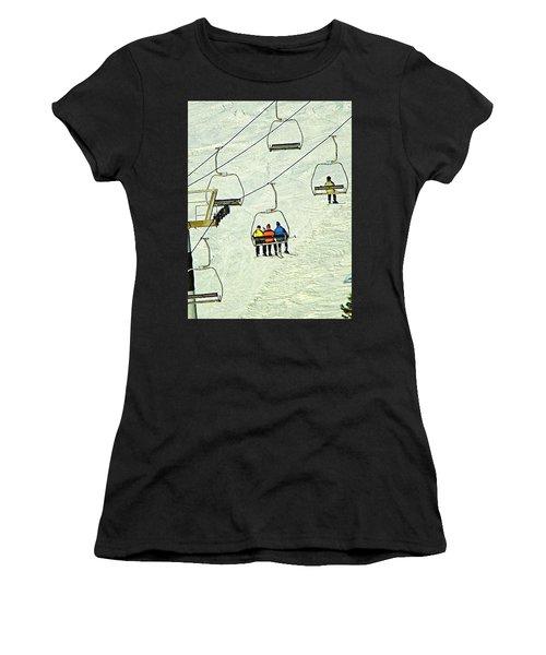 Wanna Lift Women's T-Shirt (Athletic Fit)