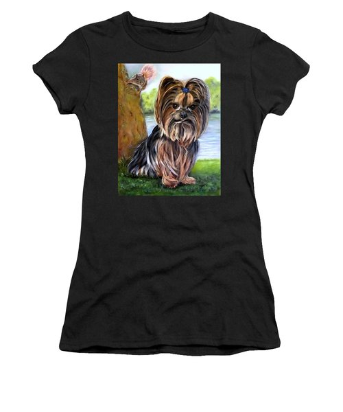 Wanna Play? Women's T-Shirt (Athletic Fit)