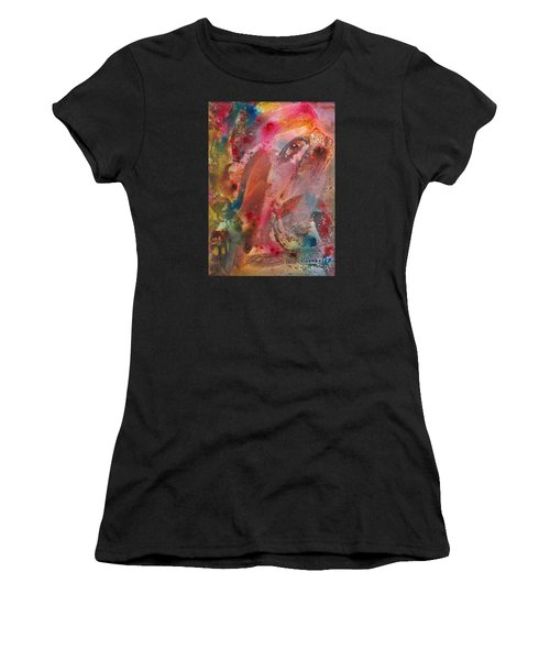 Wanting To See Or Not Women's T-Shirt (Junior Cut) by Denise Hoag