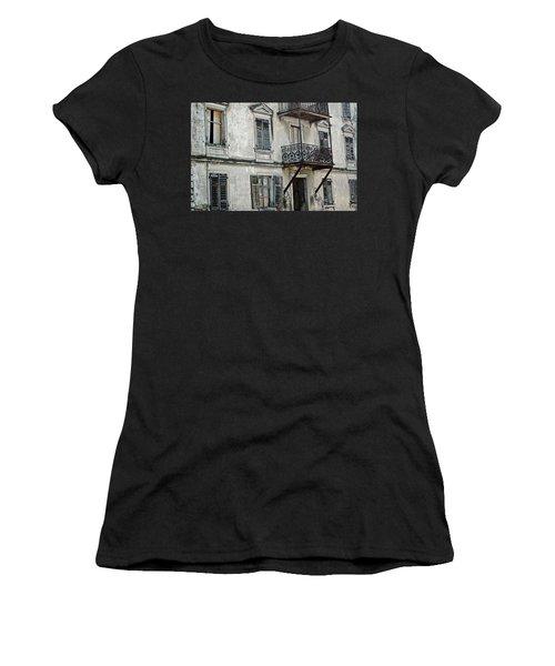 Abandoned War Torn Building In Bregenz Austria Women's T-Shirt