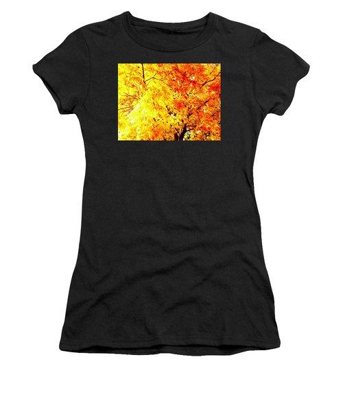 Warmth Of Fall Women's T-Shirt