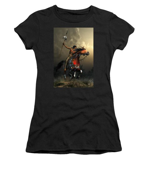 Warriors Of The Plains Women's T-Shirt (Athletic Fit)