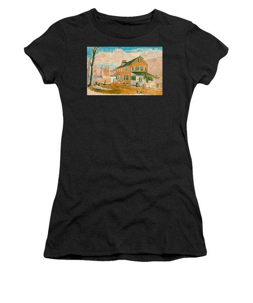 Washington D.c. Square 1874 Women's T-Shirt (Athletic Fit)