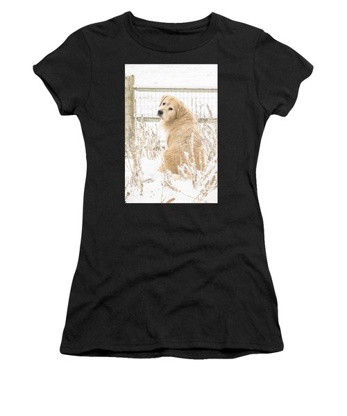 Watching It Snow Women's T-Shirt