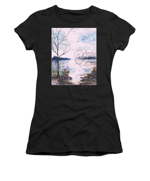 Watching The World Go Round Women's T-Shirt