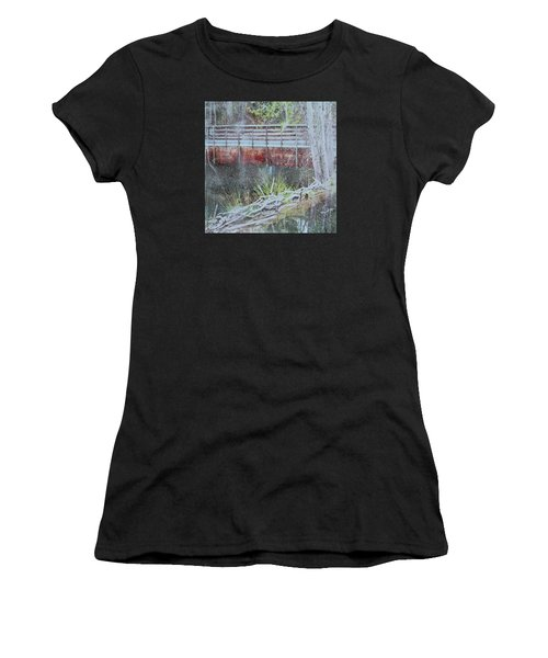 Water #5 Women's T-Shirt (Athletic Fit)