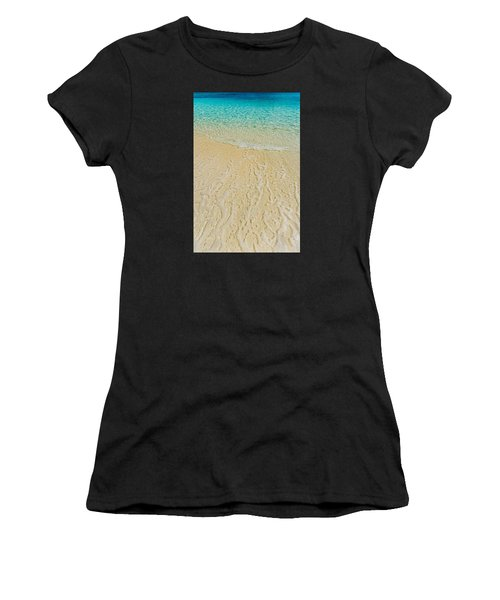 Water Abstract 1 Women's T-Shirt (Athletic Fit)