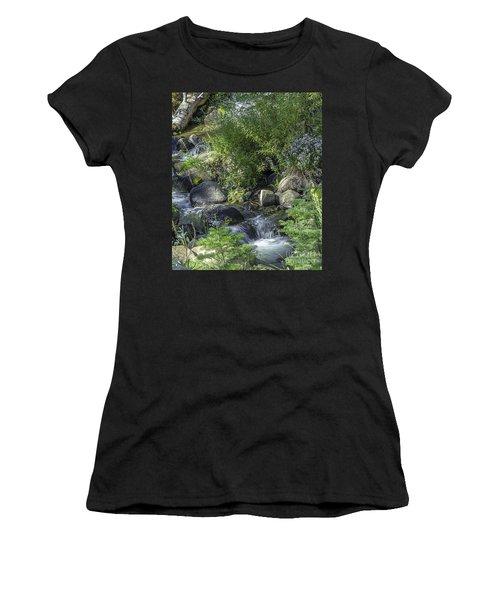 Water And Wildflowers Women's T-Shirt