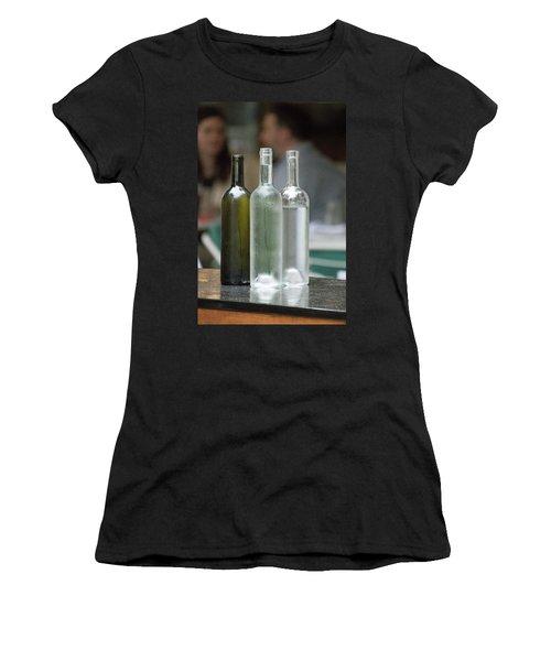 Water Bottles At The Brasserie No 1 Women's T-Shirt