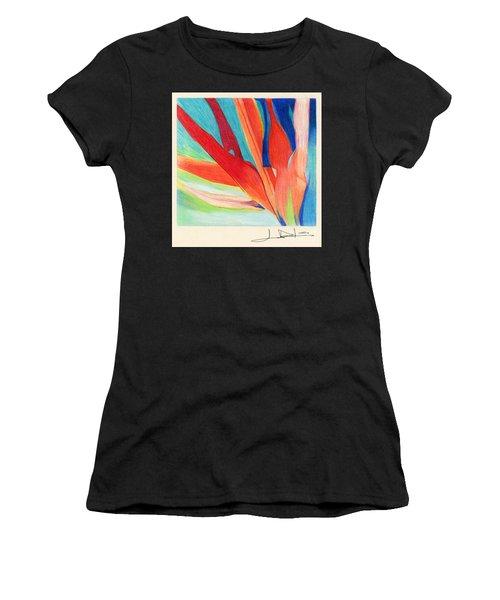 Water Grass Blue Women's T-Shirt