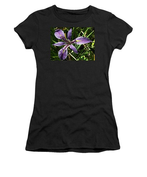 Water Iris Women's T-Shirt (Athletic Fit)